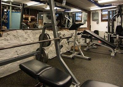 Riverbank house gym