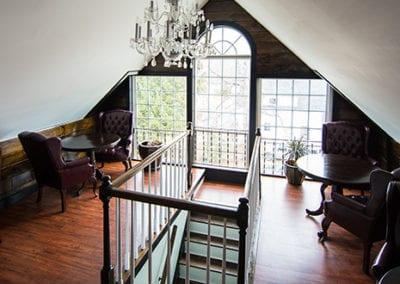 Riverbank house interior