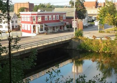 Bridge with neighborhood